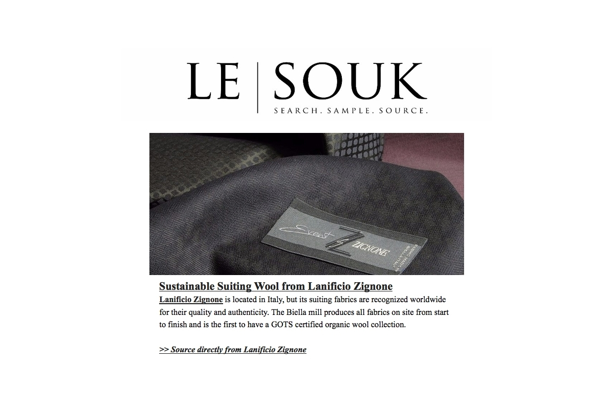 FROM THE REAL MARKET TO THE VIRTUAL MARKETPLACE WITH LE SOUK