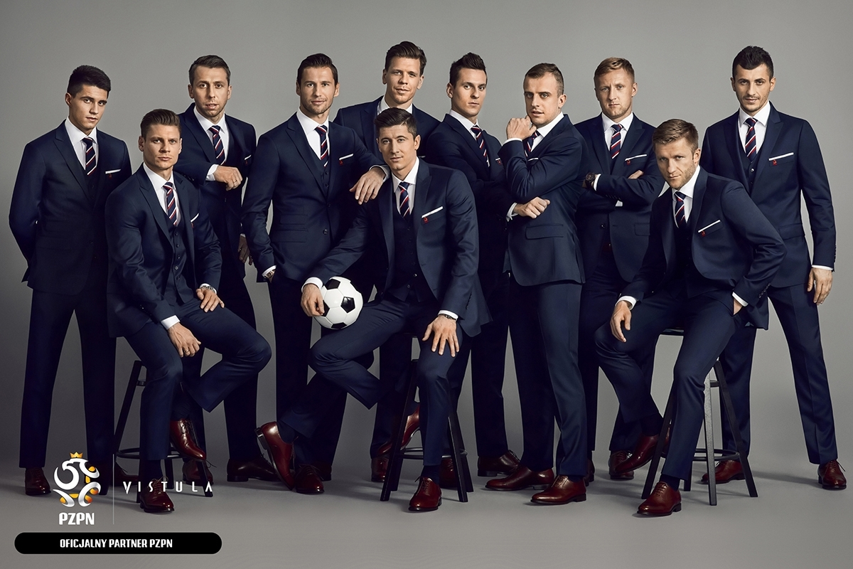 ZIGNONE & VISTULA FOR THE POLISH FOOTBALL NATIONAL TEAM, A new generation of elegance