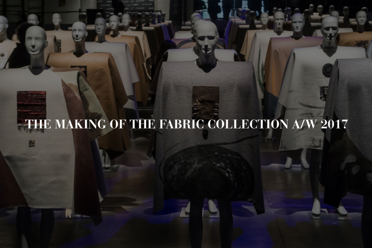 THE MAKING OF THE FABRIC COLLECTION: COLOUR SELECTION
