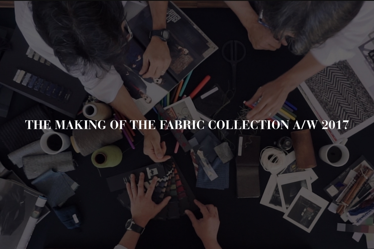 THE MAKING OF THE FABRIC COLLECTION: BRAINSTORMING