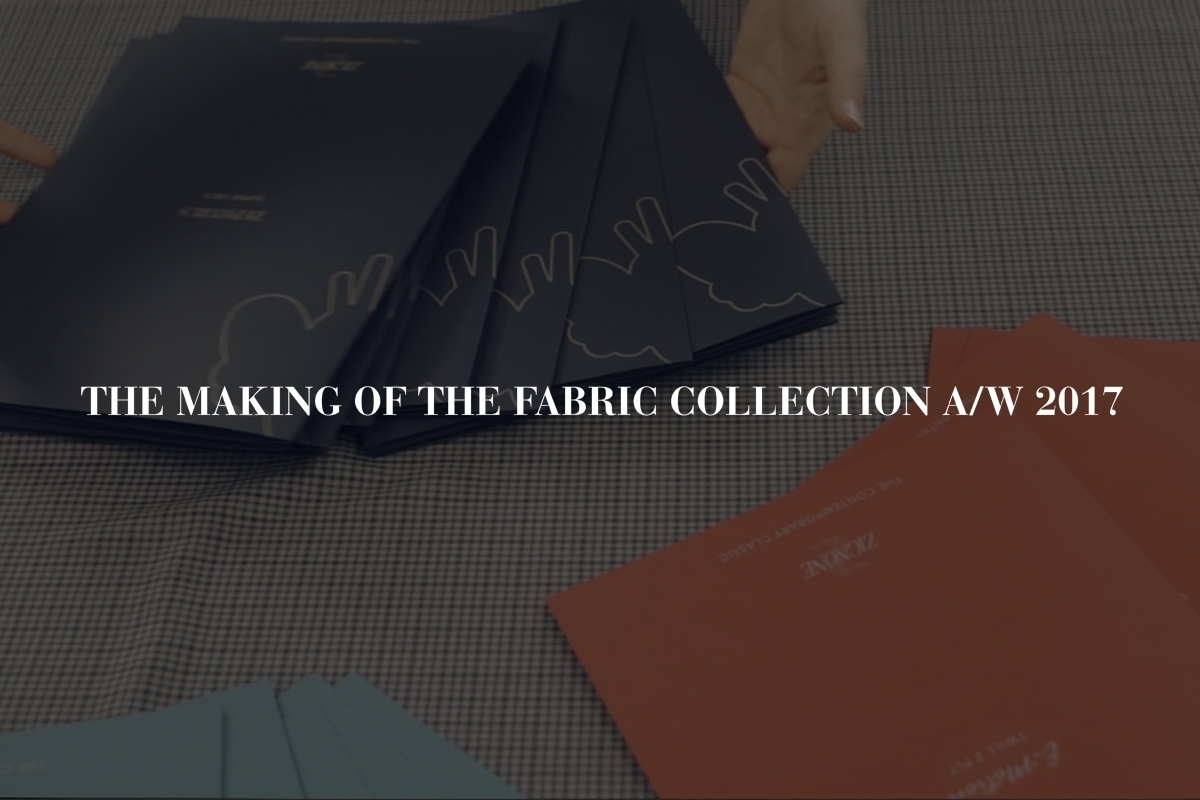 THE MAKING OF THE FABRIC COLLECTION: THE BOOK PROJECT