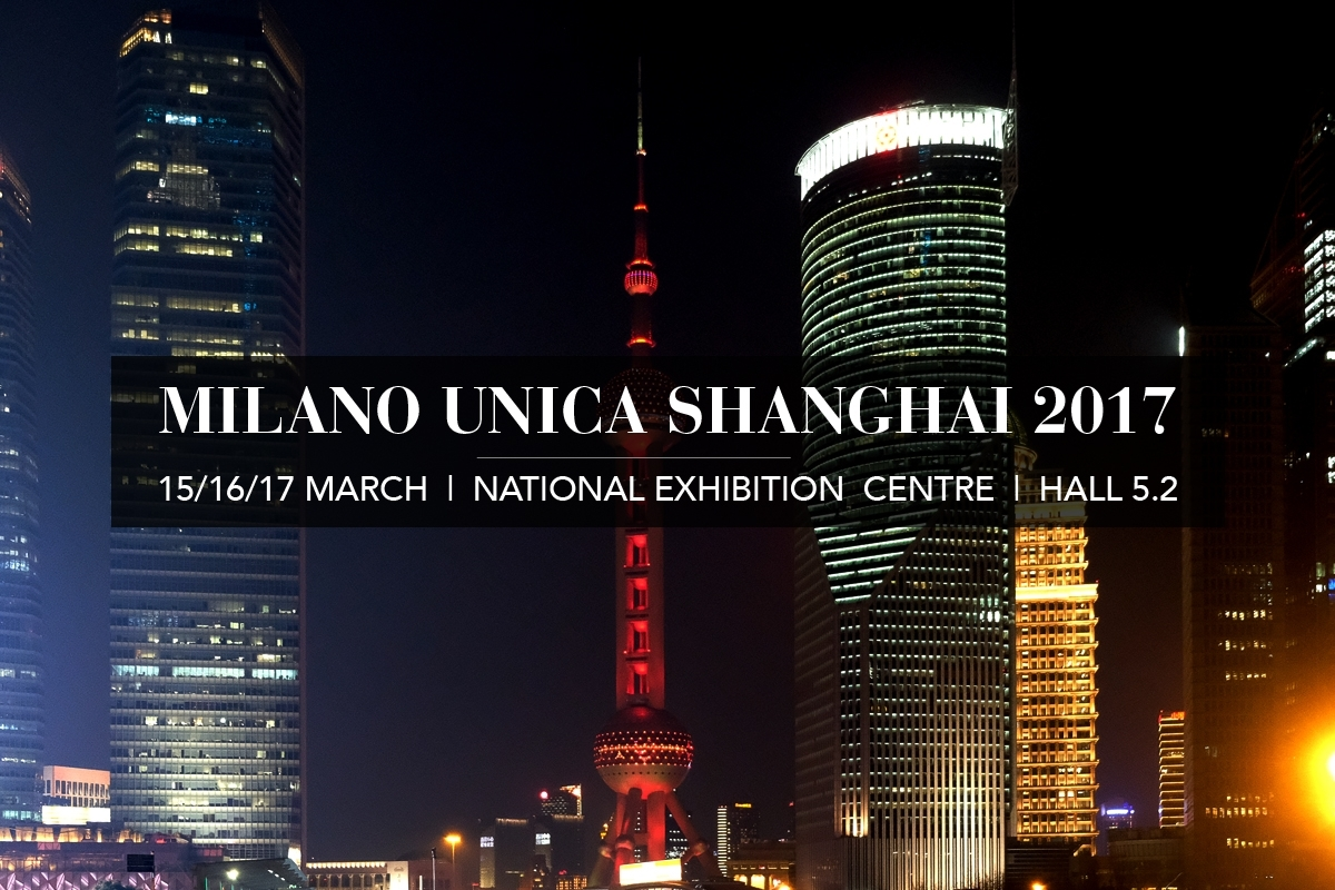 IN SHANGHAI FOR MILANO UNICA