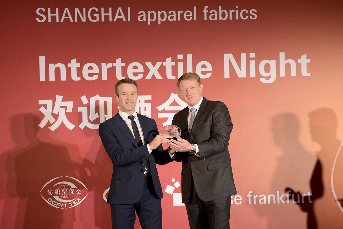 "NEL 2015, IL ""15 YEAR AWARD"" DI INTERTEXTILE VA AL LANIFICIO ZIGNONE"